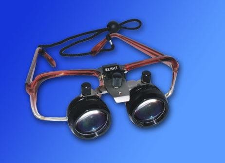 Лупа бинокулярная Zenit ЛБ-1М