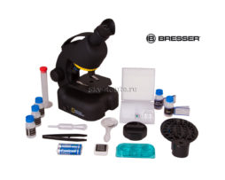 Микроскоп Bresser National Geographic 40–640x, с адаптером для смартфона