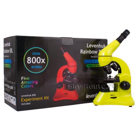 Levenhuk Rainbow 50L Lime