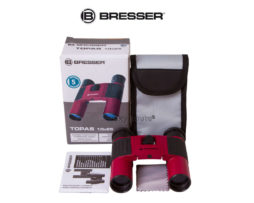 Бинокль Bresser Topas 10x25 Red