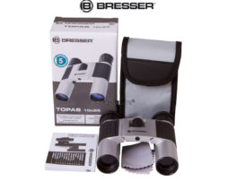 Бинокль Bresser Topas 10x25 Silver