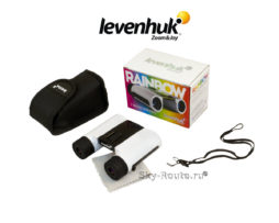 Бинокль Levenhuk Rainbow 8x25 White Snow