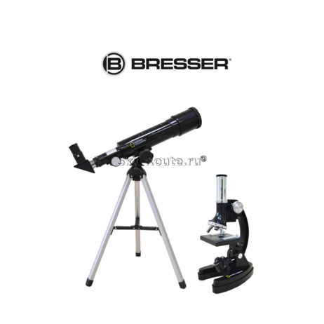 Набор Bresser National Geographic телескоп 50-360 AZ микроскоп 300x–1200x