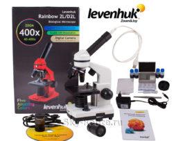 Levenhuk Rainbow D2L Moonstone с камерой 0,3 Мпикс
