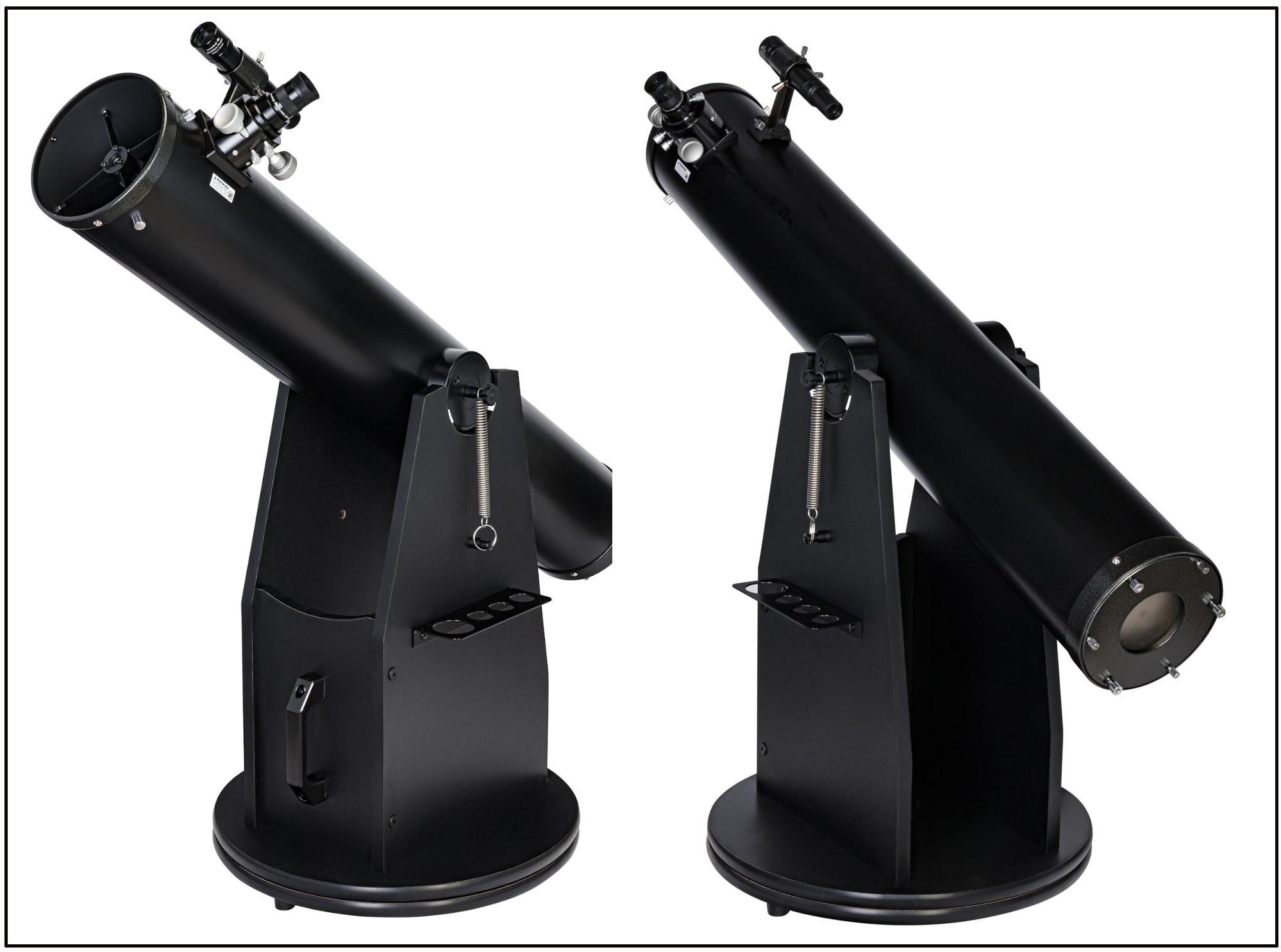 Обзор телескопа Levenhuk Ra 150N Dob