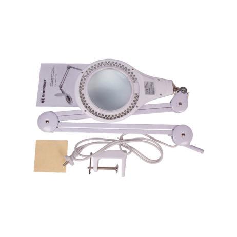 Настольная лупа Bresser 2х 125 мм с подсветкой