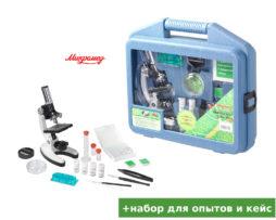 Детский игровой микроскоп с набором для опытов