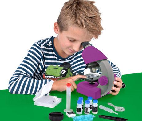 Bresser Junior 40x-640x, фиолетовый