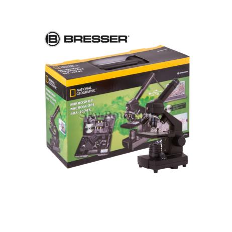 Микроскоп цифровой Bresser National Geographic 40–1024x, в кейсе