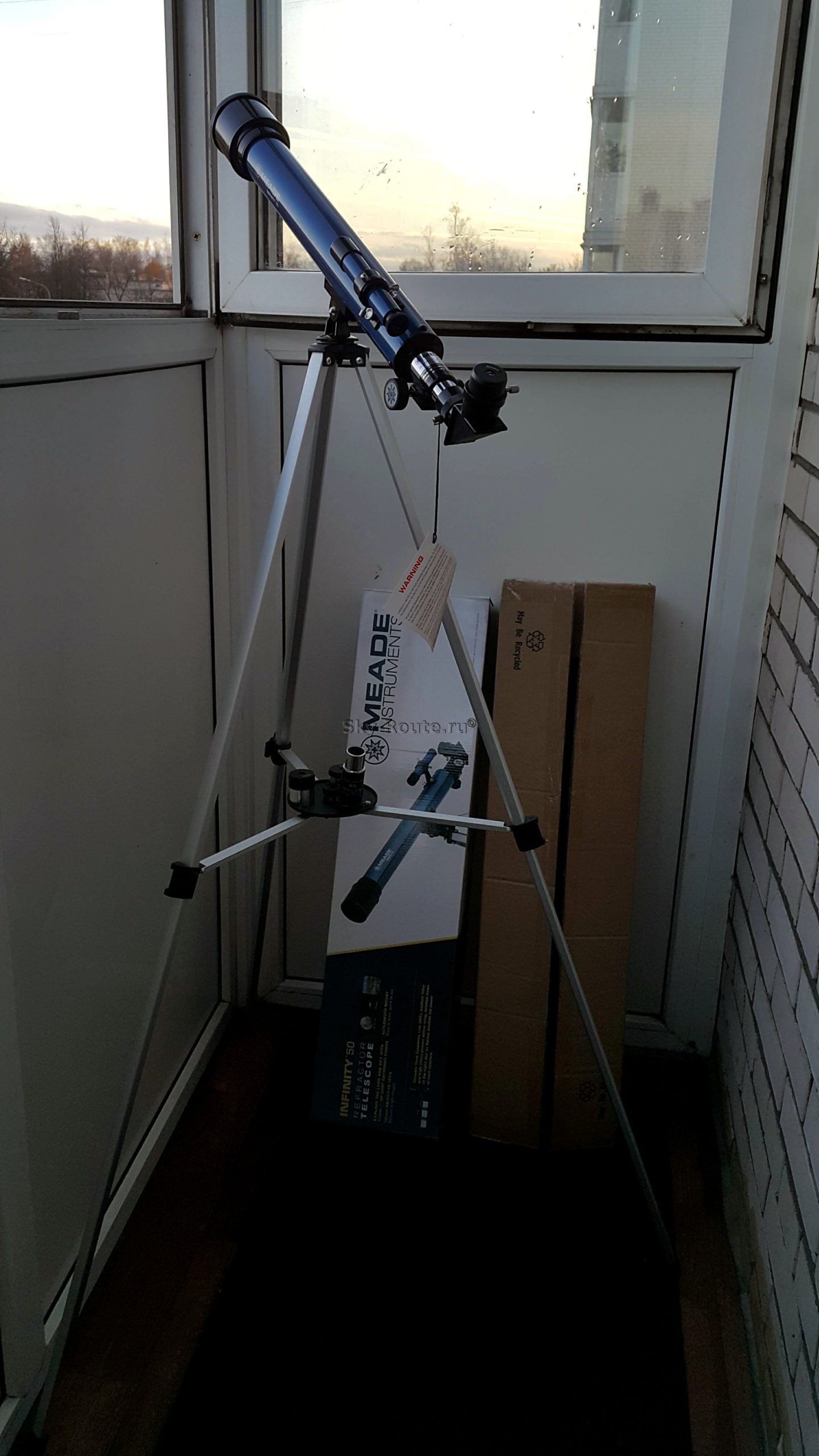 Телескоп Meade Infinity 50 мм AZ f/12 (50 мм/600мм)