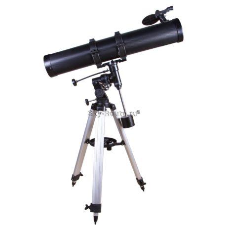 Телескоп Bresser Galaxia 114-900 EQ с адаптером для смартфона
