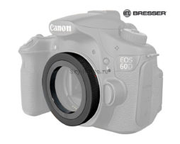 Т-кольцо Bresser Canon EOS M42