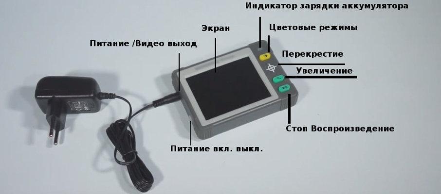 Лупа электронная МИКМЕД Гомер 10х