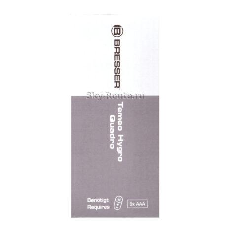 Bresser Temeo Hygro Quadro, черная