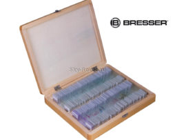 Набор микропрепаратов Bresser 100 шт