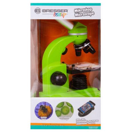 Микроскоп Bresser Junior Biolux SEL 40–1600x зеленый