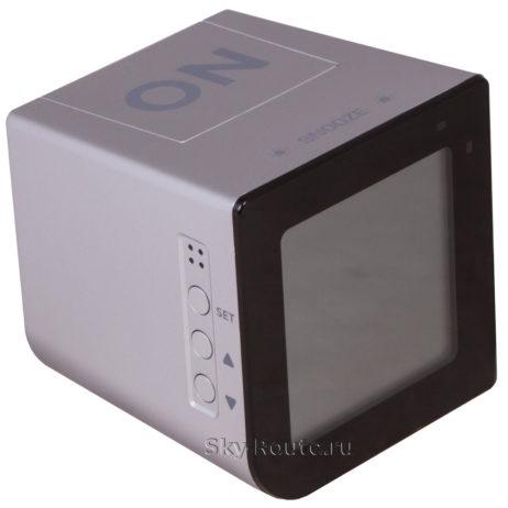 Bresser FlipMe Alarm Clock серебристые