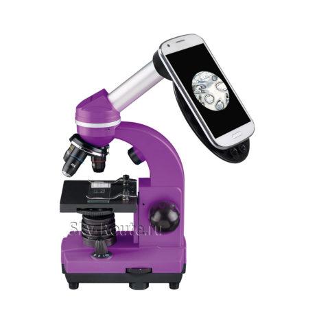 Bresser Junior Biolux SEL 40–1600x фиолетовый