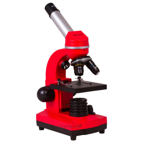 Микроскоп Bresser Junior Biolux SEL 40–1600x красный