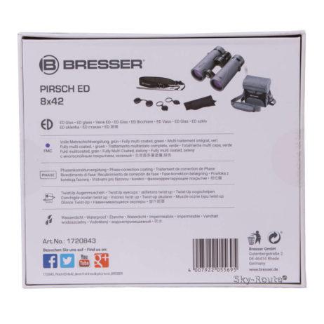 Бинокль Bresser Pirsch ED 8x42