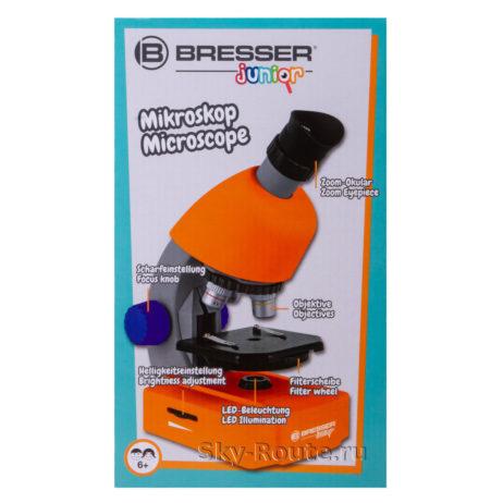 Bresser Junior 40–640x оранжевый