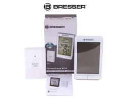 Метеостанция Bresser TemeoTrend STX с радиоуправлением белая