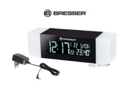 Радио с будильником и термометром Bresser MyTime Sunrise Bluetooth черное