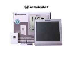 Метеостанция Bresser TemeoTrend JC LCD с радиоуправлением серебристая