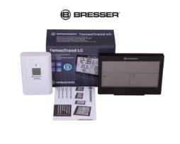 Метеостанция Bresser TemeoTrend LG с радиоуправлением черная