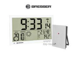 Метеостанция Bresser MyTime Jumbo LCD белая