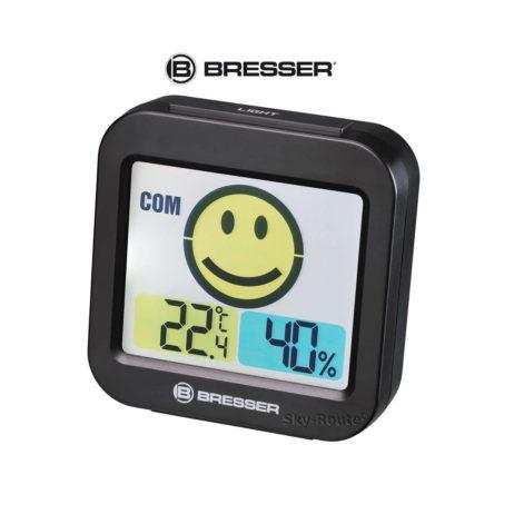 Метеостанция Bresser MyTime Smile черная