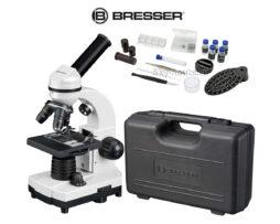 Микроскоп Bresser Junior Biolux SEL 40–1600x белый в кейсе