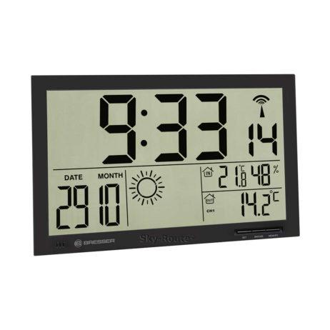 Метеостанция Bresser MyTime Jumbo LCD черная