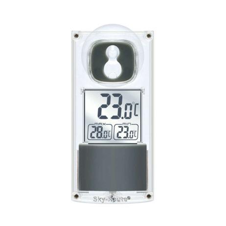 Термометр Bresser с солнечной панелью оконный