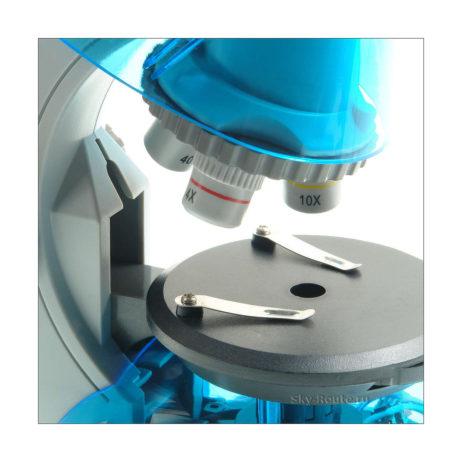 Микромед Атом 40x-640x лазурь