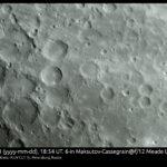 Луна 31 мая в Meade LX 65 6M