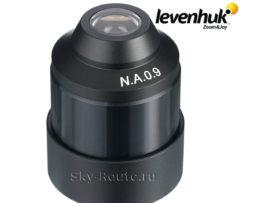 Конденсор темного поля Levenhuk 0,9 сухой